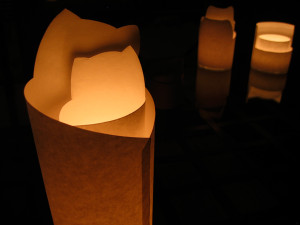 Paper Candle Holder (2004)